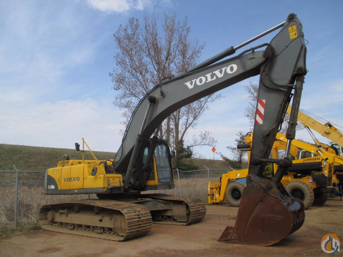 2002 VOLVO EC290B LC Crawler VOLVO EC290B LC American State Equipment 20267 on CraneNetwork.com